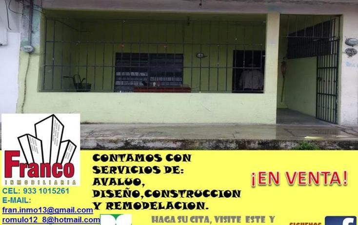Foto de casa en venta en  , san silverio, comalcalco, tabasco, 1616712 No. 01