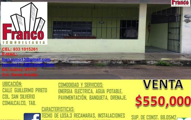 Foto de casa en venta en  , san silverio, comalcalco, tabasco, 1616712 No. 07
