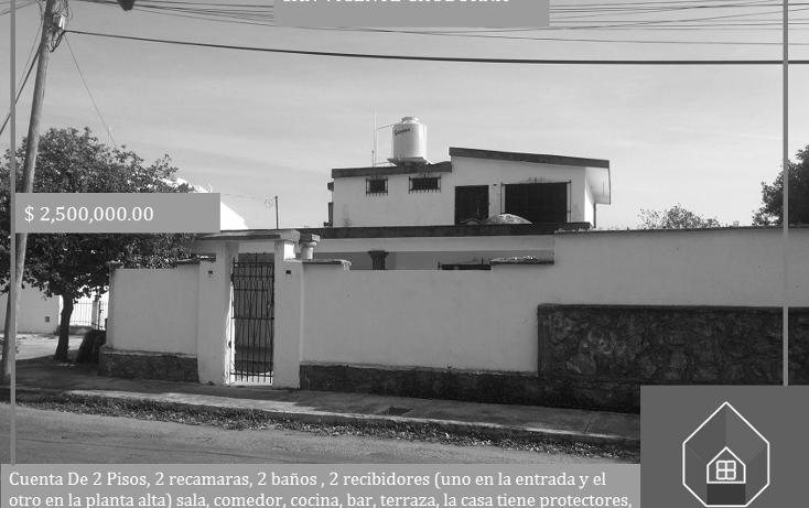Foto de casa en venta en  , san vicente chuburna, mérida, yucatán, 1771902 No. 01