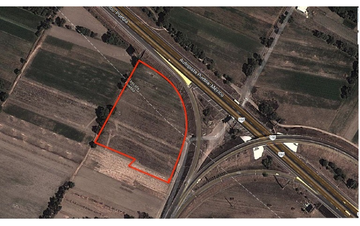 Foto de terreno comercial en venta en  , santa ana xalmimilulco, huejotzingo, puebla, 1281615 No. 01