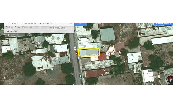 Foto de terreno habitacional en venta en  , santa catarina centro, santa catarina, nuevo león, 1720120 No. 01