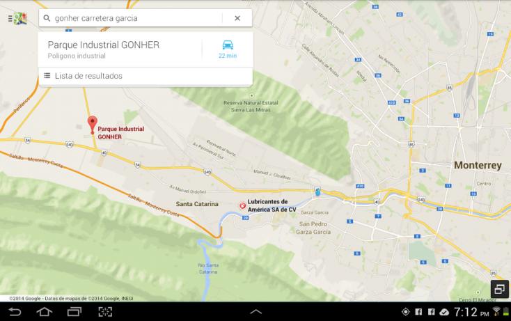 Foto de terreno industrial en venta en, santa catarina centro, santa catarina, nuevo león, 650873 no 11