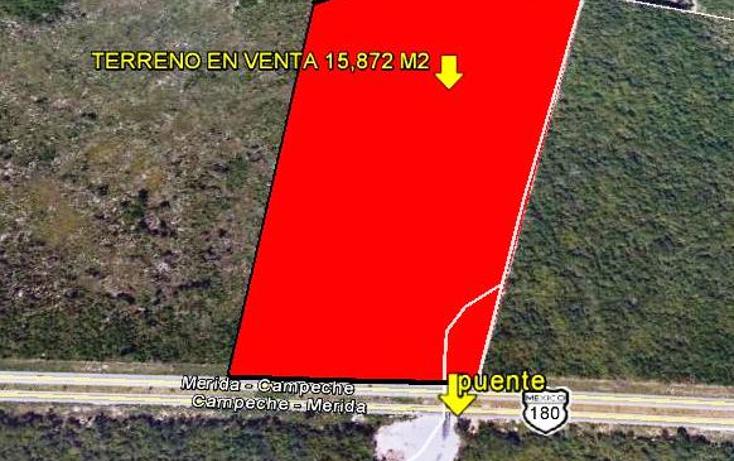 Foto de terreno comercial en venta en  , santa cruz palomeque, m?rida, yucat?n, 1045793 No. 01