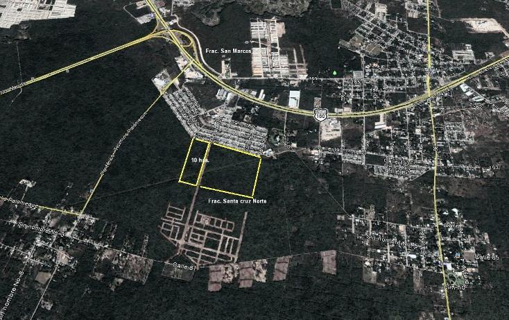 Foto de terreno habitacional en venta en  , santa cruz palomeque, mérida, yucatán, 1189027 No. 02