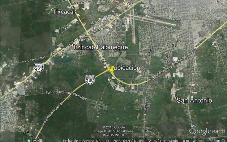 Foto de terreno comercial en venta en  , santa cruz palomeque, mérida, yucatán, 1247991 No. 04