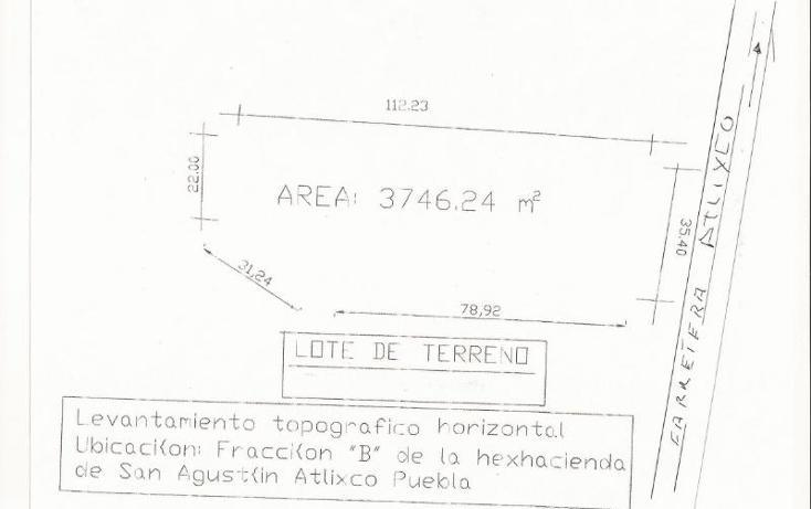 Foto de terreno comercial en renta en carretera federal puebla-atlixco , santa cruz tehuispango, atlixco, puebla, 388664 No. 01