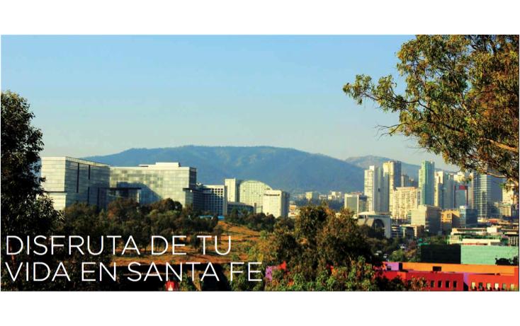 Foto de departamento en venta en  , santa fe, álvaro obregón, distrito federal, 1296563 No. 09