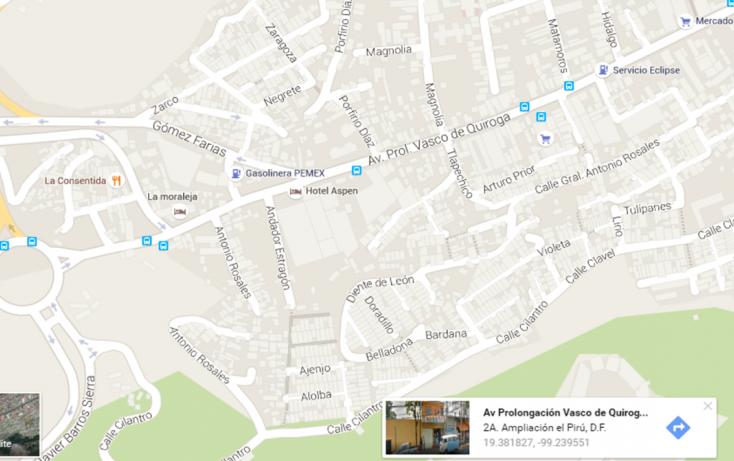 Foto de terreno habitacional en venta en, santa fe centro ciudad, álvaro obregón, df, 1955483 no 02