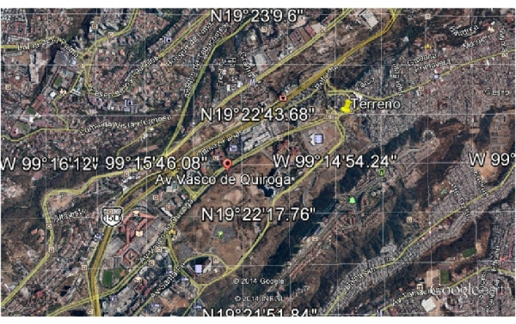 Foto de terreno habitacional en venta en, santa fe cuajimalpa, cuajimalpa de morelos, df, 937655 no 02