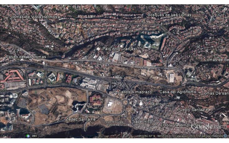 Foto de terreno comercial en venta en  , santa fe cuajimalpa, cuajimalpa de morelos, distrito federal, 1732354 No. 01