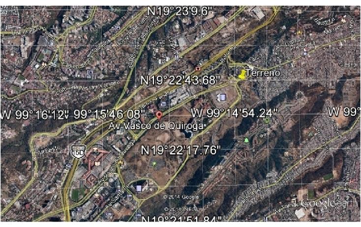 Foto de terreno habitacional en venta en  , santa fe cuajimalpa, cuajimalpa de morelos, distrito federal, 937655 No. 02