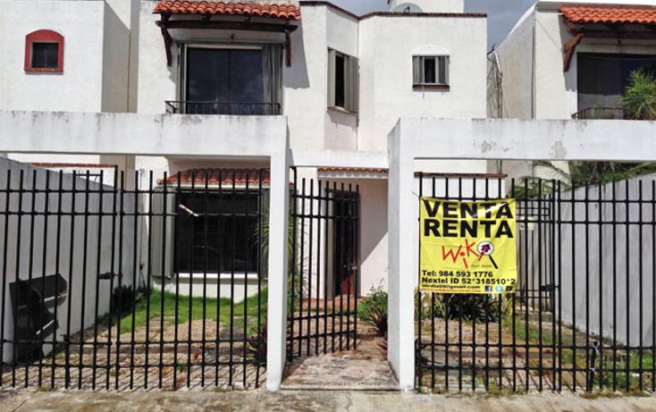 Foto de casa en renta en  , santa fe del carmen, solidaridad, quintana roo, 1255219 No. 01