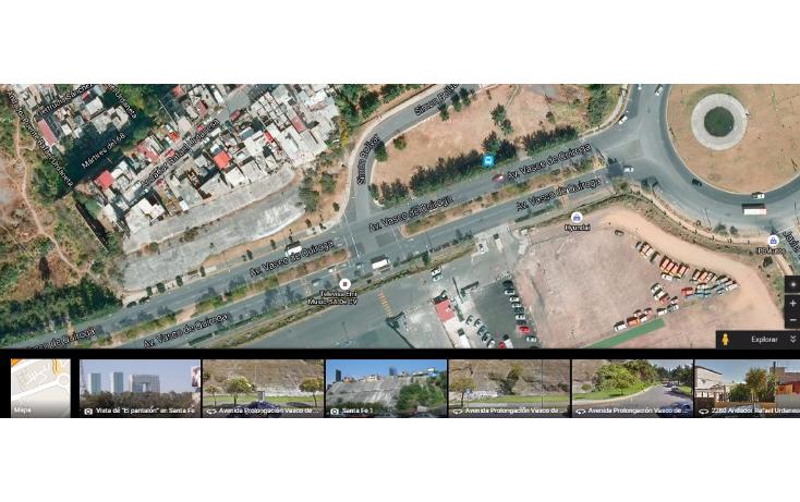 Foto de terreno habitacional en venta en  , santa fe la loma, álvaro obregón, distrito federal, 2642760 No. 04