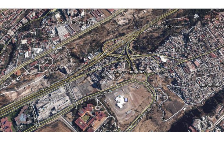 Foto de terreno comercial en venta en  , santa fe peña blanca, álvaro obregón, distrito federal, 1200041 No. 01