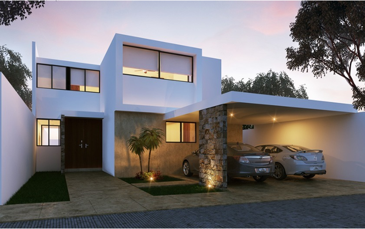 Foto de casa en venta en  , santa gertrudis copo, m?rida, yucat?n, 1059461 No. 01