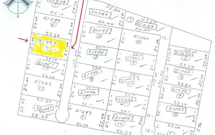 Foto de terreno habitacional en venta en  , santa gertrudis copo, mérida, yucatán, 1062833 No. 02