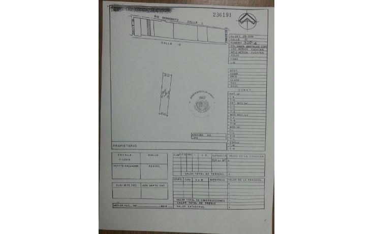 Foto de terreno comercial en renta en  , santa gertrudis copo, mérida, yucatán, 1065373 No. 03