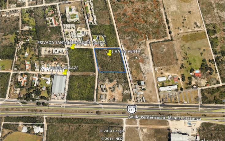 Foto de terreno habitacional en venta en  , santa gertrudis copo, mérida, yucatán, 1092555 No. 01