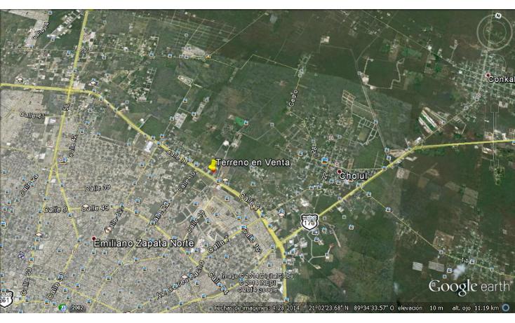 Foto de terreno comercial en venta en  , santa gertrudis copo, m?rida, yucat?n, 1119969 No. 04