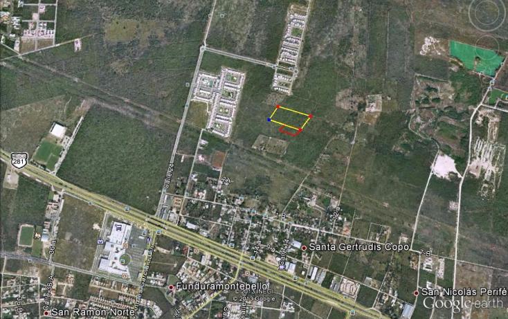 Foto de terreno habitacional en venta en  , santa gertrudis copo, mérida, yucatán, 1128851 No. 01