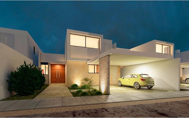 Foto de casa en condominio en venta en  , santa gertrudis copo, mérida, yucatán, 1145373 No. 01