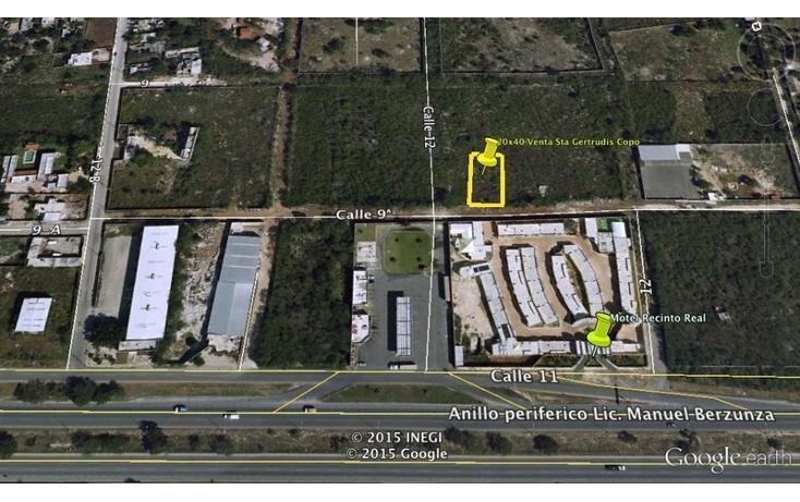 Foto de terreno habitacional en venta en  , santa gertrudis copo, mérida, yucatán, 1191491 No. 03