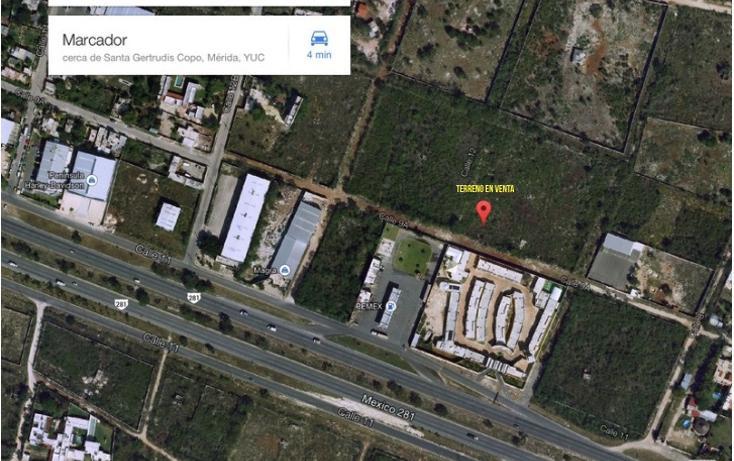 Foto de terreno habitacional en venta en  , santa gertrudis copo, mérida, yucatán, 1191491 No. 05