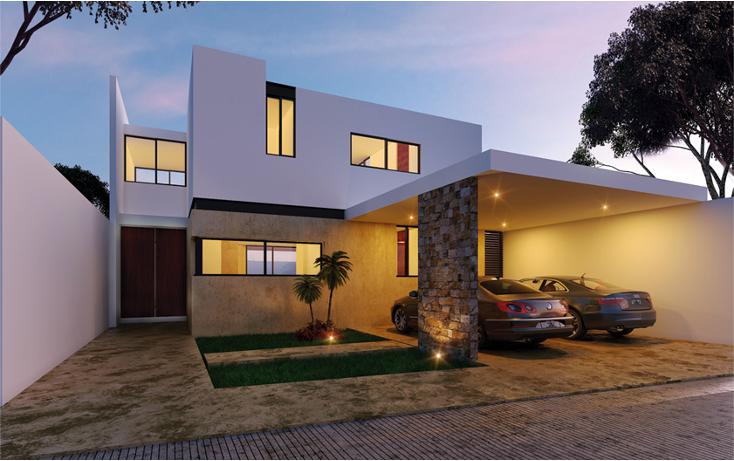 Foto de casa en condominio en venta en  , santa gertrudis copo, mérida, yucatán, 1192933 No. 01