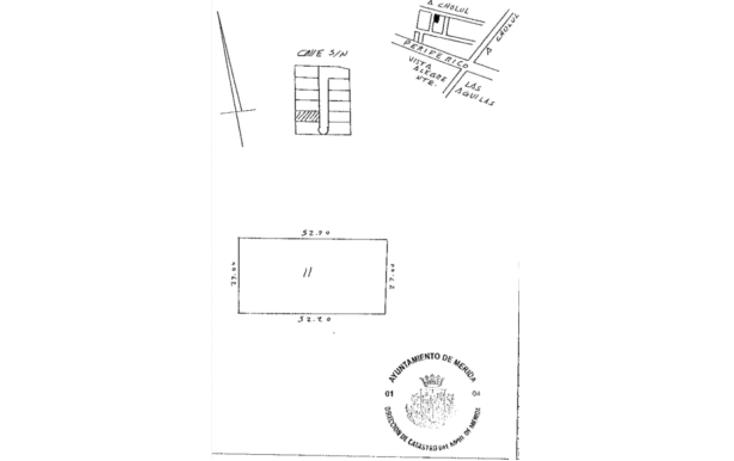 Foto de terreno habitacional en venta en  , santa gertrudis copo, mérida, yucatán, 1238839 No. 01