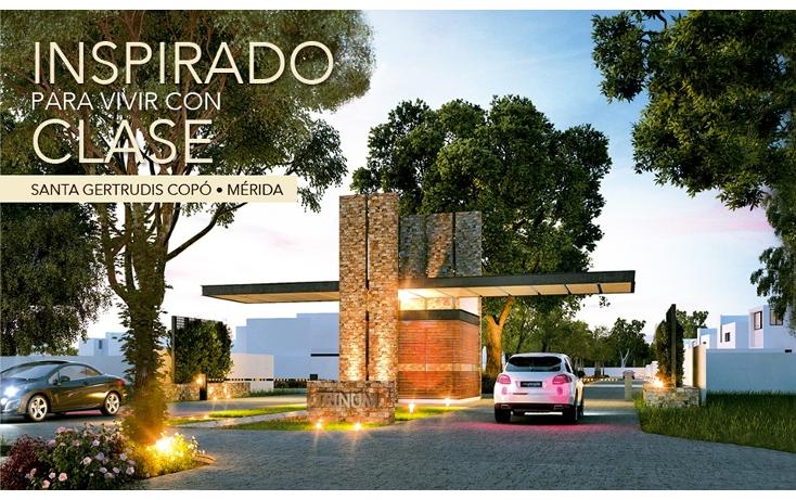 Foto de casa en venta en  , santa gertrudis copo, mérida, yucatán, 1252669 No. 01