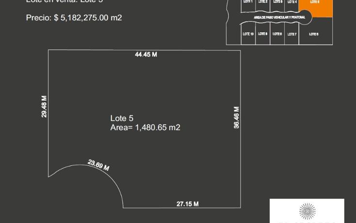 Foto de terreno habitacional en venta en  , santa gertrudis copo, mérida, yucatán, 1266269 No. 02