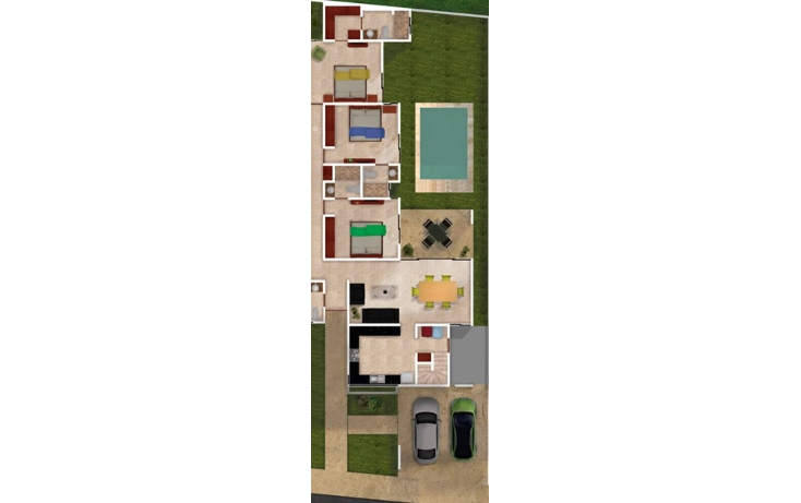 Foto de casa en venta en  , santa gertrudis copo, m?rida, yucat?n, 1430139 No. 04