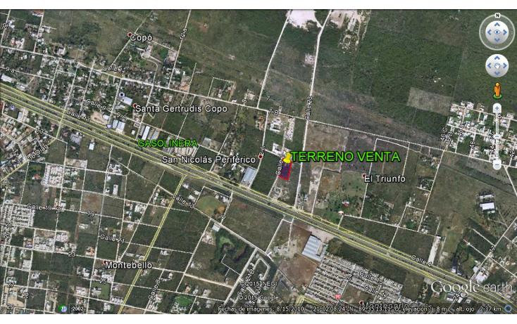 Foto de terreno habitacional en venta en  , santa gertrudis copo, m?rida, yucat?n, 1549838 No. 01