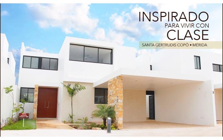Foto de casa en venta en  , santa gertrudis copo, mérida, yucatán, 1597582 No. 01