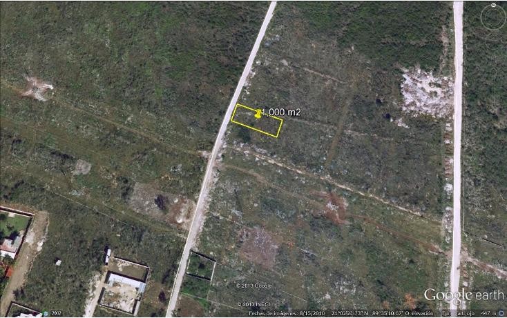 Foto de terreno habitacional en venta en  , santa gertrudis copo, mérida, yucatán, 1600602 No. 03