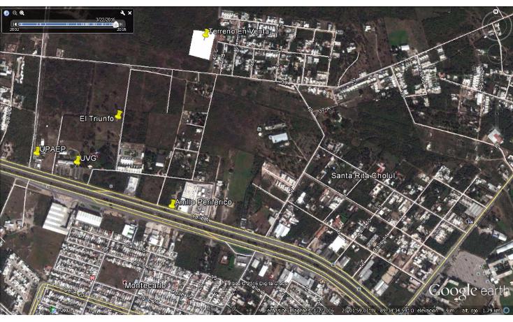 Foto de terreno habitacional en venta en  , santa gertrudis copo, mérida, yucatán, 1737272 No. 01