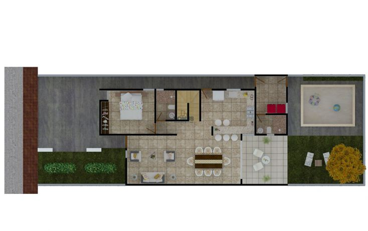 Foto de casa en venta en, santa gertrudis copo, mérida, yucatán, 1857274 no 06