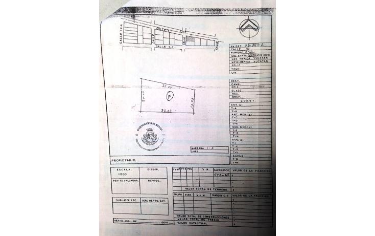 Foto de terreno habitacional en venta en  , santa gertrudis copo, mérida, yucatán, 2035482 No. 06