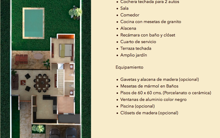 Foto de casa en venta en  , santa gertrudis copo, mérida, yucatán, 2729086 No. 04