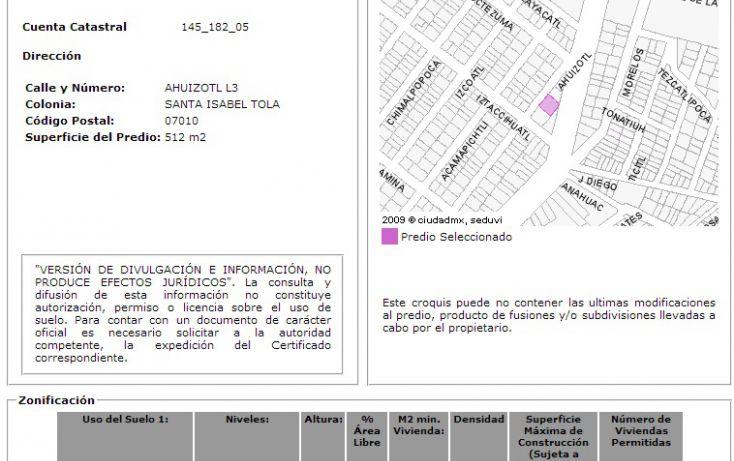 Foto de terreno comercial en venta en, santa isabel tola, gustavo a madero, df, 1053423 no 02