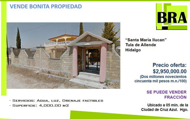 Foto de casa en venta en, santa maría ilucan, tula de allende, hidalgo, 1691544 no 01