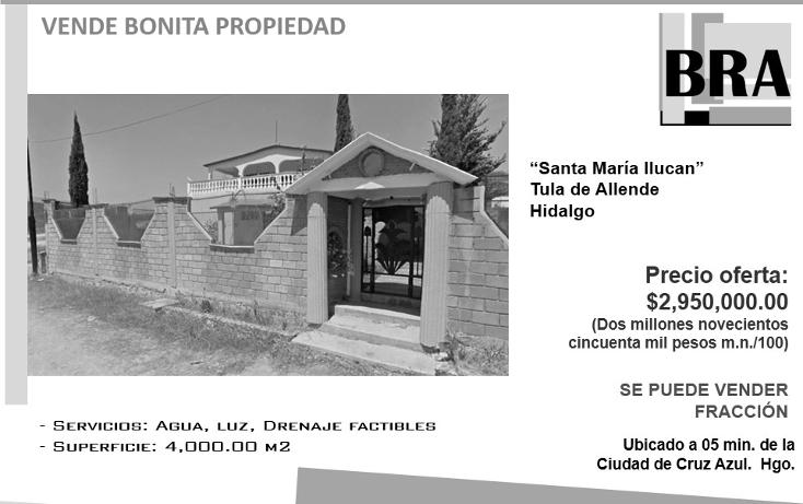 Foto de casa en venta en  , santa mar?a ilucan, tula de allende, hidalgo, 1691544 No. 01