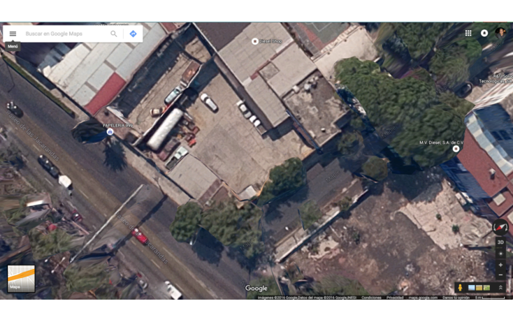 Foto de terreno comercial en venta en  , santa maria insurgentes, cuauht?moc, distrito federal, 1624269 No. 02
