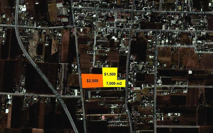 Foto de terreno habitacional en venta en  , santa maría, san mateo atenco, méxico, 642913 No. 01