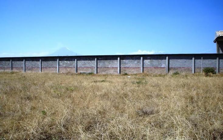 Foto de terreno habitacional en venta en  , santa mar?a tonantzintla, san andr?s cholula, puebla, 1836572 No. 03