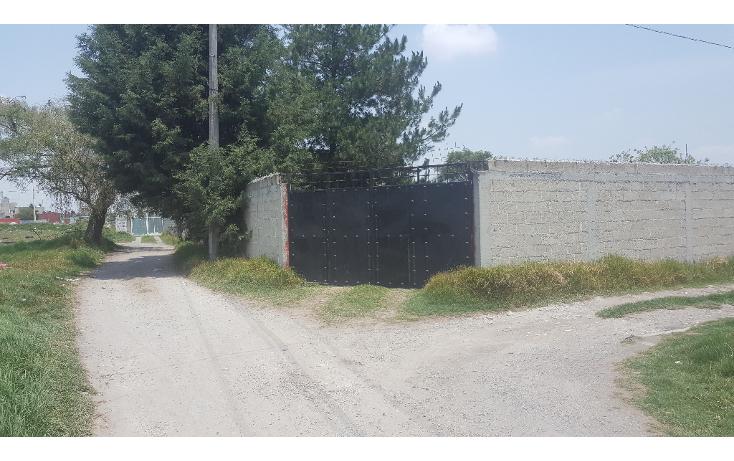 Foto de terreno habitacional en venta en  , santa mar?a totoltepec, toluca, m?xico, 2029800 No. 01