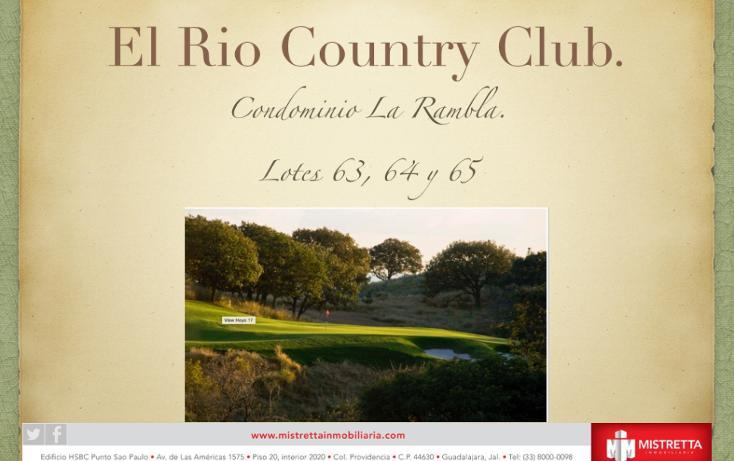 Foto de terreno habitacional en venta en  , santa quiteria, el arenal, jalisco, 1196025 No. 02