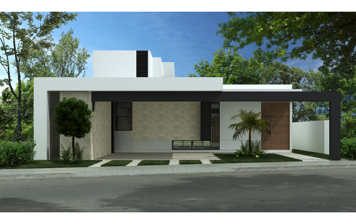 Foto de casa en venta en  , santa rita cholul, m?rida, yucat?n, 1074665 No. 01