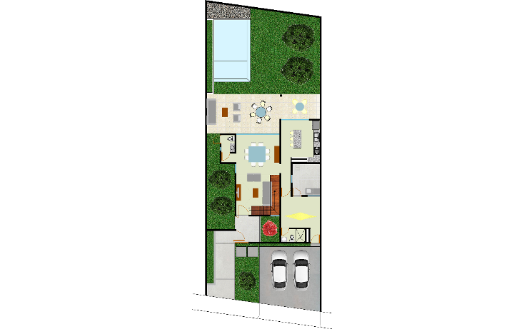 Foto de casa en venta en  , santa rita cholul, mérida, yucatán, 1469797 No. 05