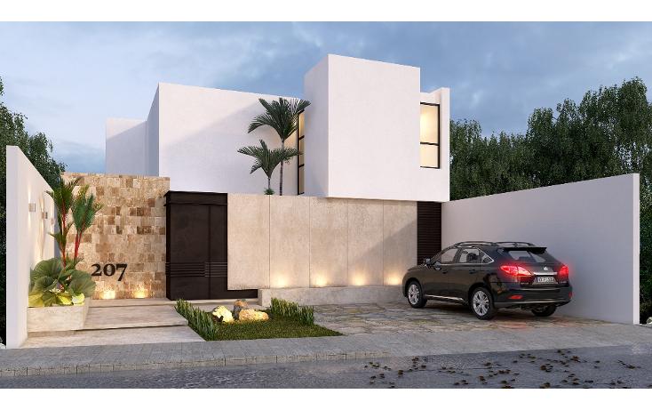 Foto de casa en venta en  , santa rita cholul, m?rida, yucat?n, 1489737 No. 01